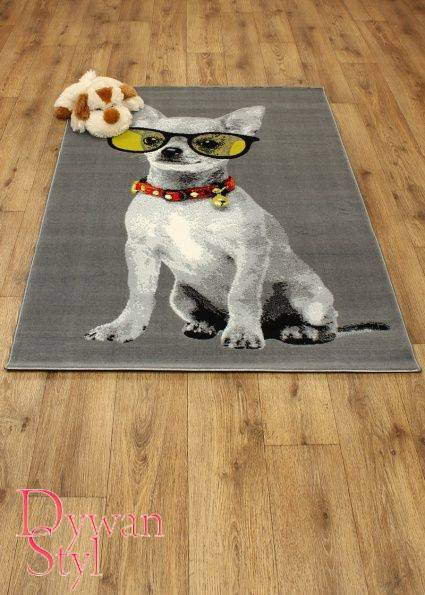 Dywan                                             Flash Modern Doggie szary (3489)