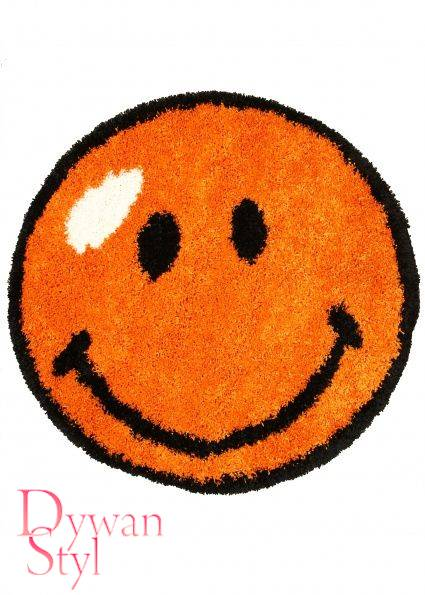 Dywan                                             Flossy Emotikon orange (3831)