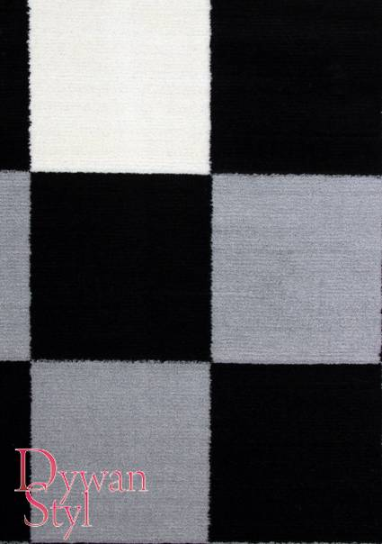 Dywan                                             Black and White Szachownica (628)