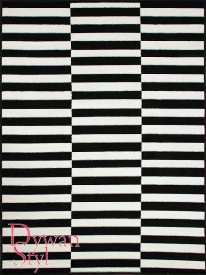 Wszystkie nowe Dywan Black White Paski (180x250) | Sklep Internetowy DywanStyl.pl TL83