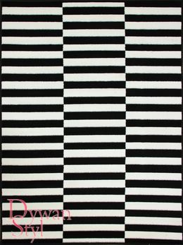 Dywan Black and White Paski (643)